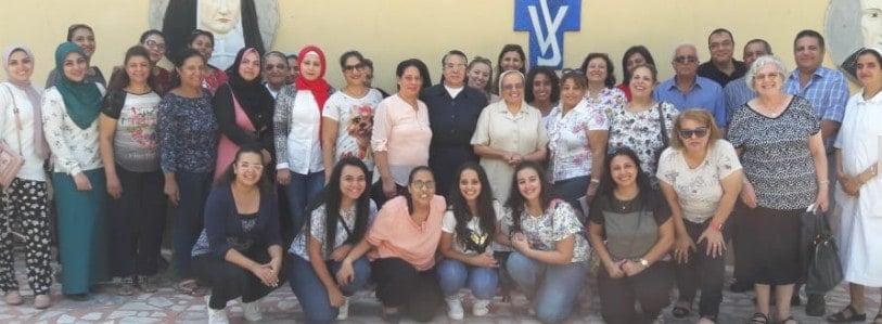 مدرسة سان فنسان دي بول العباسيه لغات