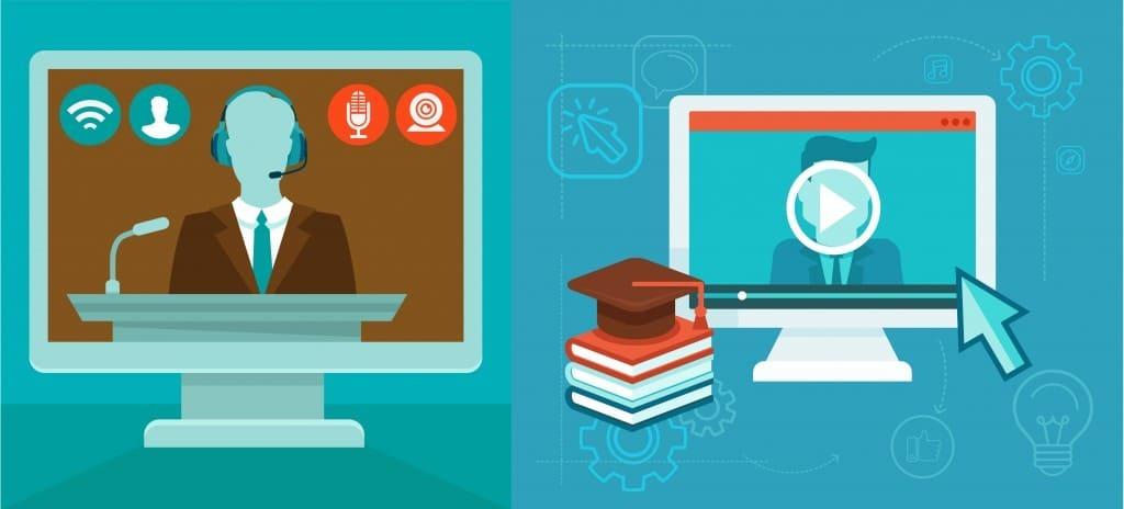 الفرق بين التعليم المتزامن والغير المتزامن