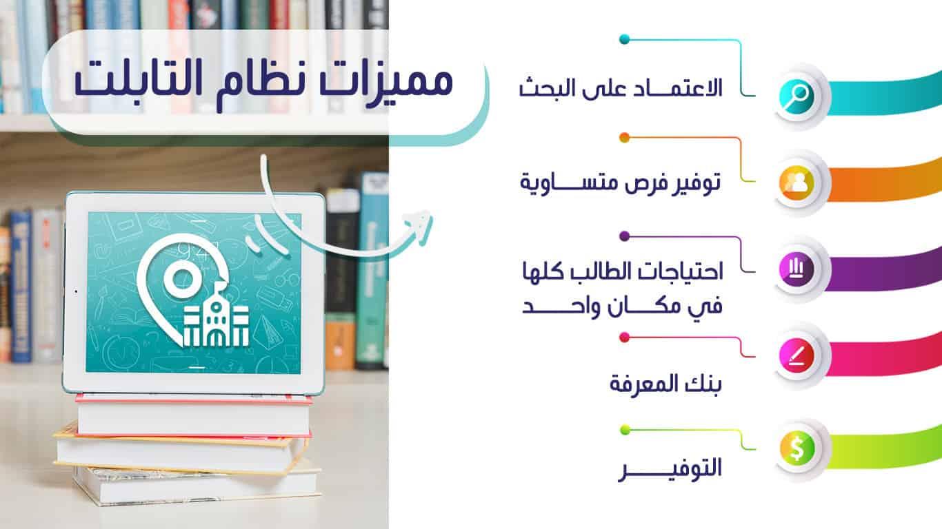 مميزات نظام التعليم الجديد بالتابلت
