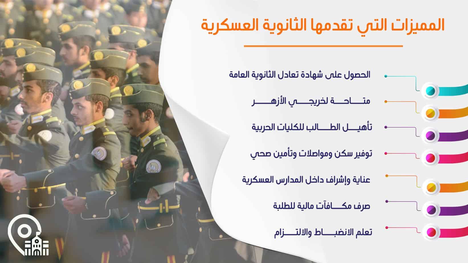 المميزات التي تقدمها المدارس العسكرية