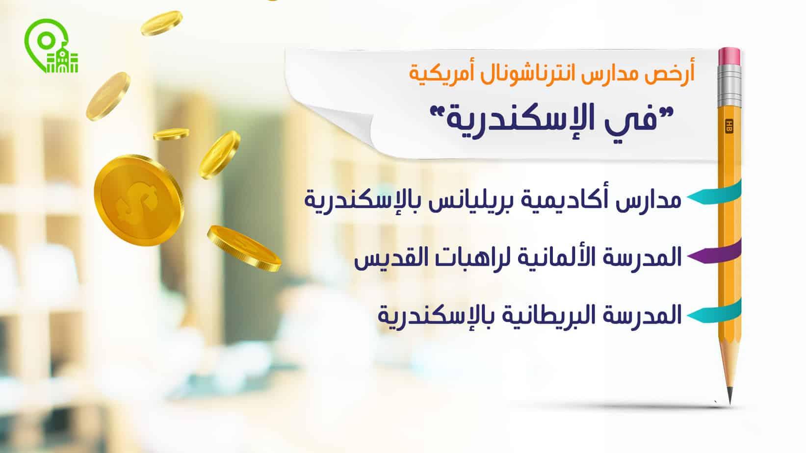 أرخص مدارس انترناشونال في الإسكندرية