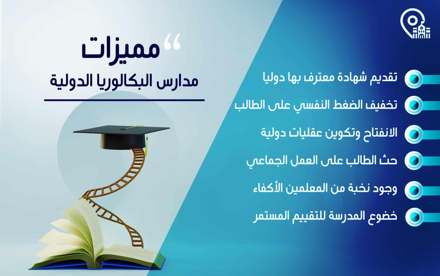 مميزات مدارس البكالوريا الدولية