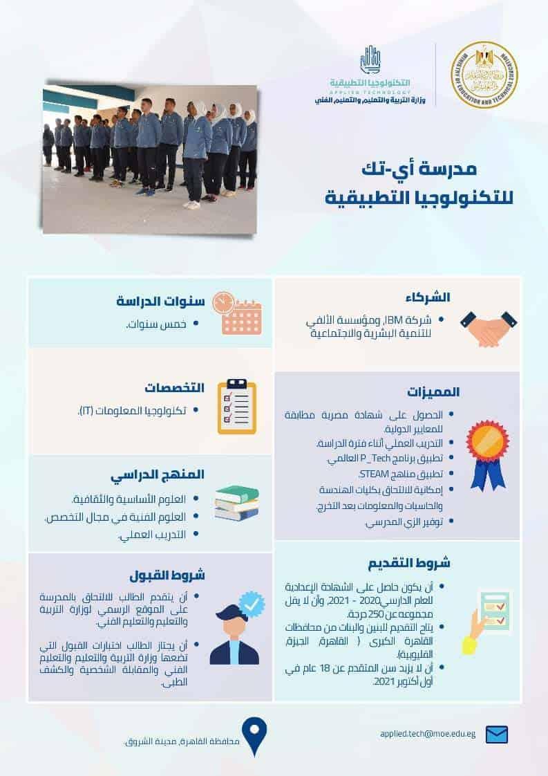 مدرسة اي-تك للتكنولوجيا التطبيقية - ITECH School