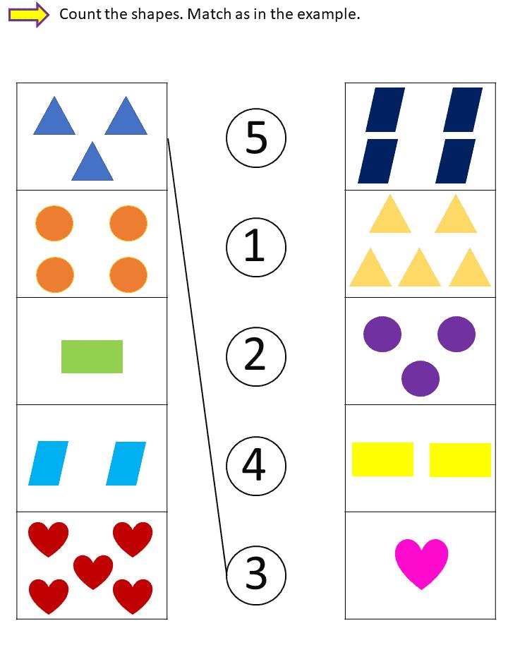 توصيل ورك شيت - Matching Worksheet