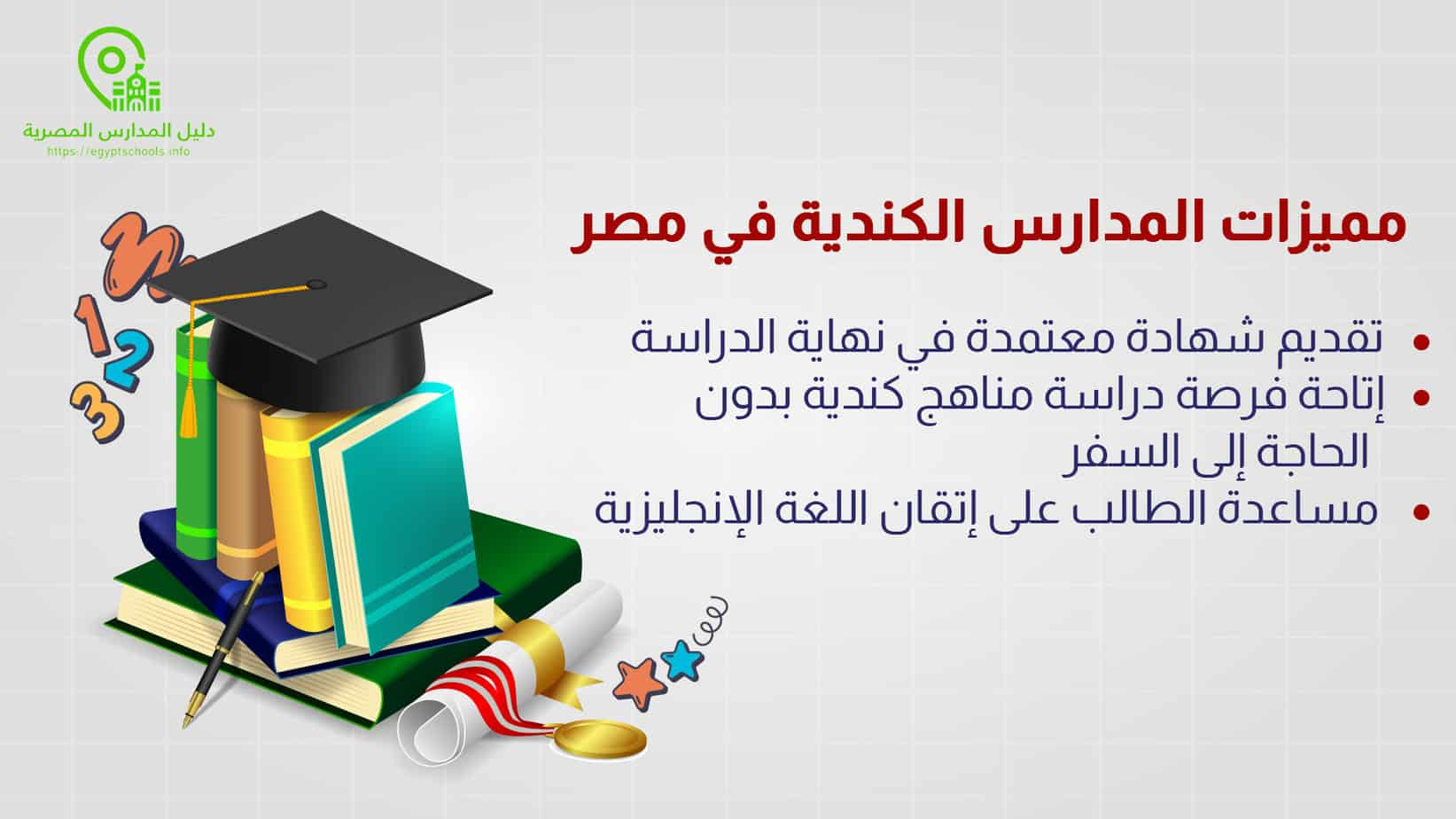 مميزات المدارس الكندية في مصر