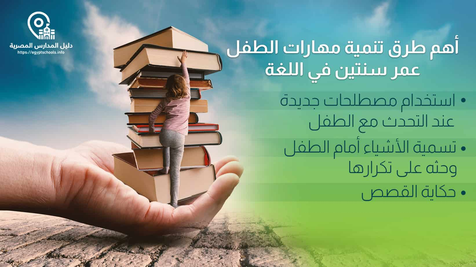 تنمية مهارات الطفل عمر سنتين في اللغة