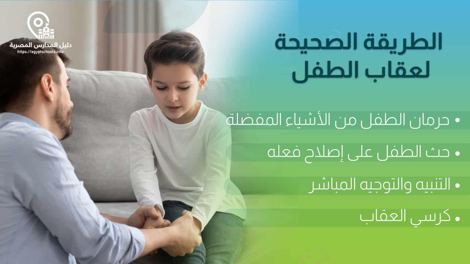 الطريقة الصحيحة لعقاب الطفل في عمر الثلاث سنوات